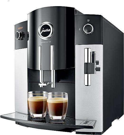 Jura IMPRESSA C65 Automatic Coffee Machine, Platinum by Jura ...