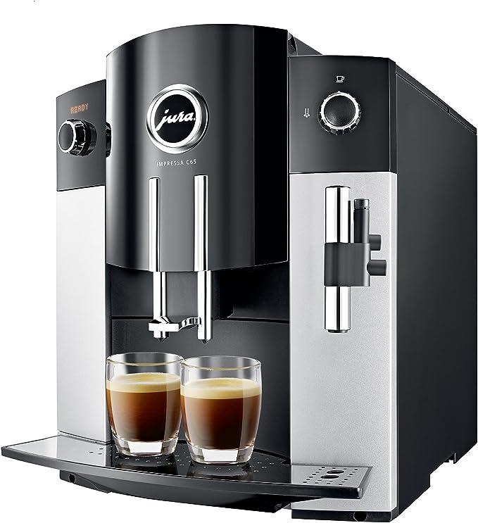 Jura 15068 IMPRESSA C65 Automatic Coffee Machine, Platinum