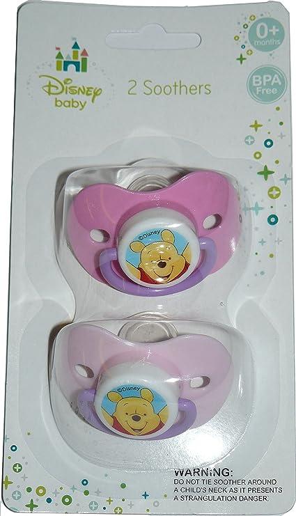 Chupete con dibujo de Winnie The Pooh de Disney de talla 0+ ...
