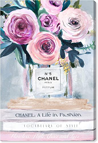 The Oliver Gal Artist Co. Fashion and Glam Wall Art Canvas Prints 'Fresh Cut Flowers' Home D cor