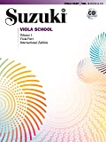 Suzuki Viola School, Vol 1: Viola Part, Book & CD