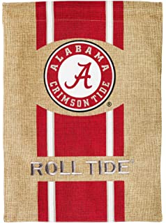 Amazoncom NCAA Alabama Crimson Tide 2 Sided Garden Flag
