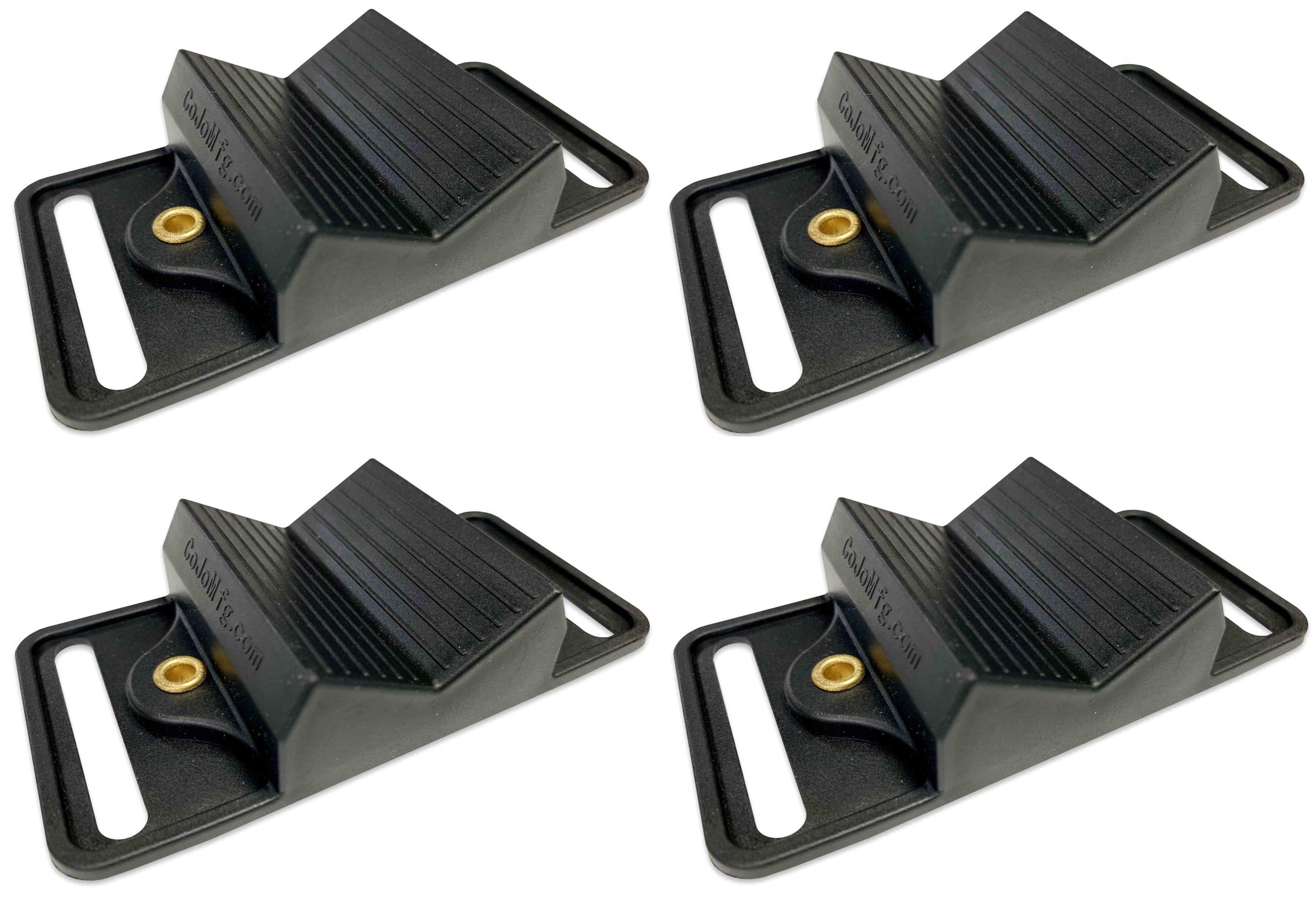 COJO MFG. 4-Pack of Gun Magnet Mount Anywhere, Non Scratch, Gun Holder for Car, ATV, Side by Side, Bed Side- Shotguns in Duck Blinds, Deer Blinds, Deer Stands by COJO MFG.