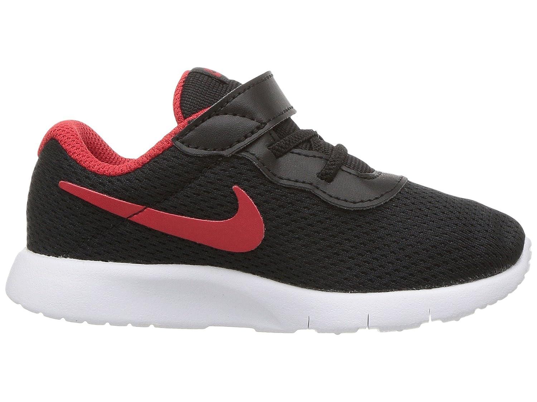 NIKE Women's Air Huarache Run Ultra Running Shoe B06XD22524 4 Toddler M|Black University Red White