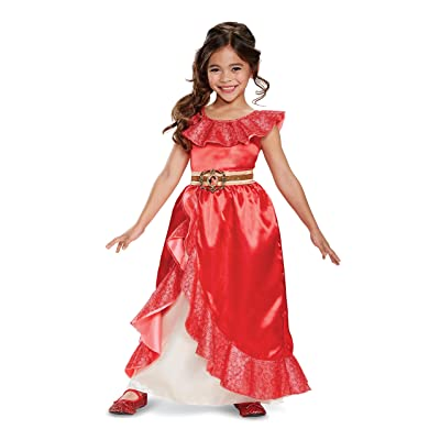 Disney Elena of Avalor Adventure Deluxe Girls' Costume: Toys & Games