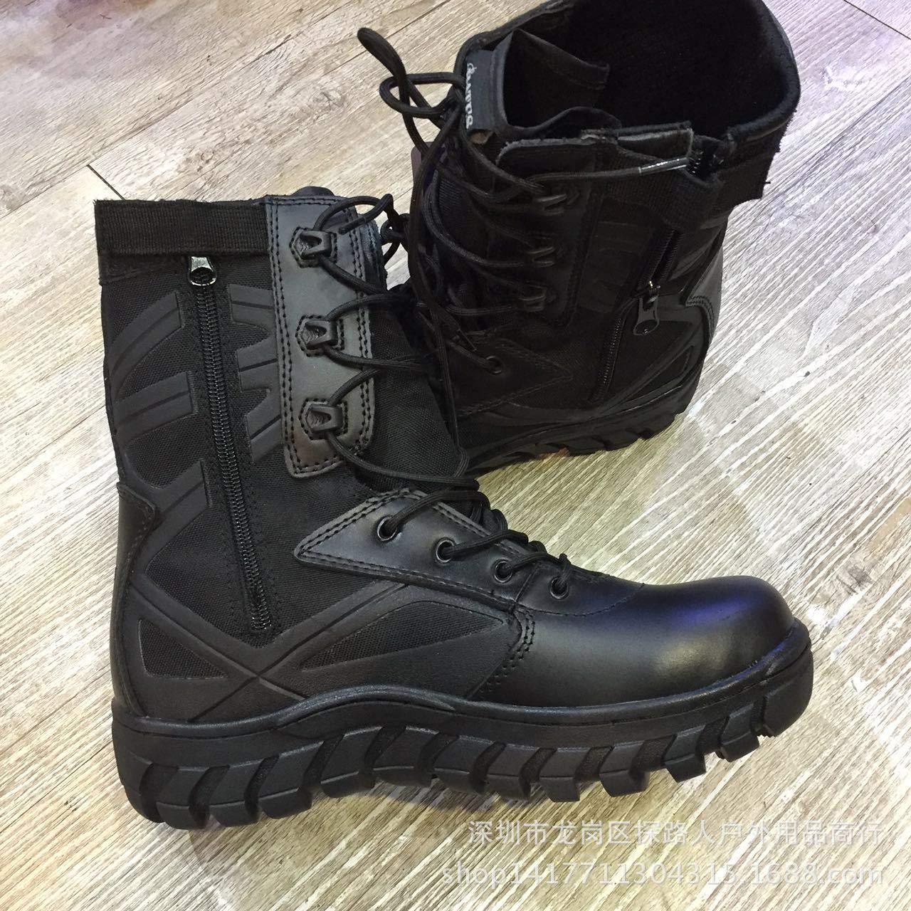 HCBYJ Schuhe Trainingsstiefel hoch, um taktischen Stiefeln im Freien beim Wandern von Outdoor-Schuhen zu helfen