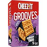 Cheez-It Grooves, Crunchy Cheese Snack ers, Loaded Cheesy Taco, 9oz Box