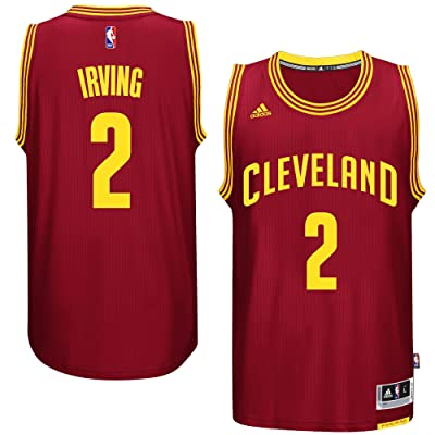 adidas Kyrie Irving Cleveland Cavaliers #2 Wine NBA Youth Road Swingman Jersey
