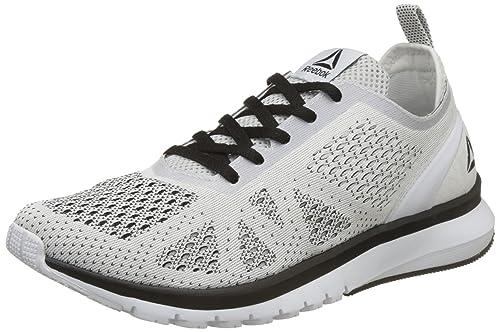 65982f7840df5 Reebok Men s Print Smooth Clip Ultk White Black Running Shoes - 10 UK India