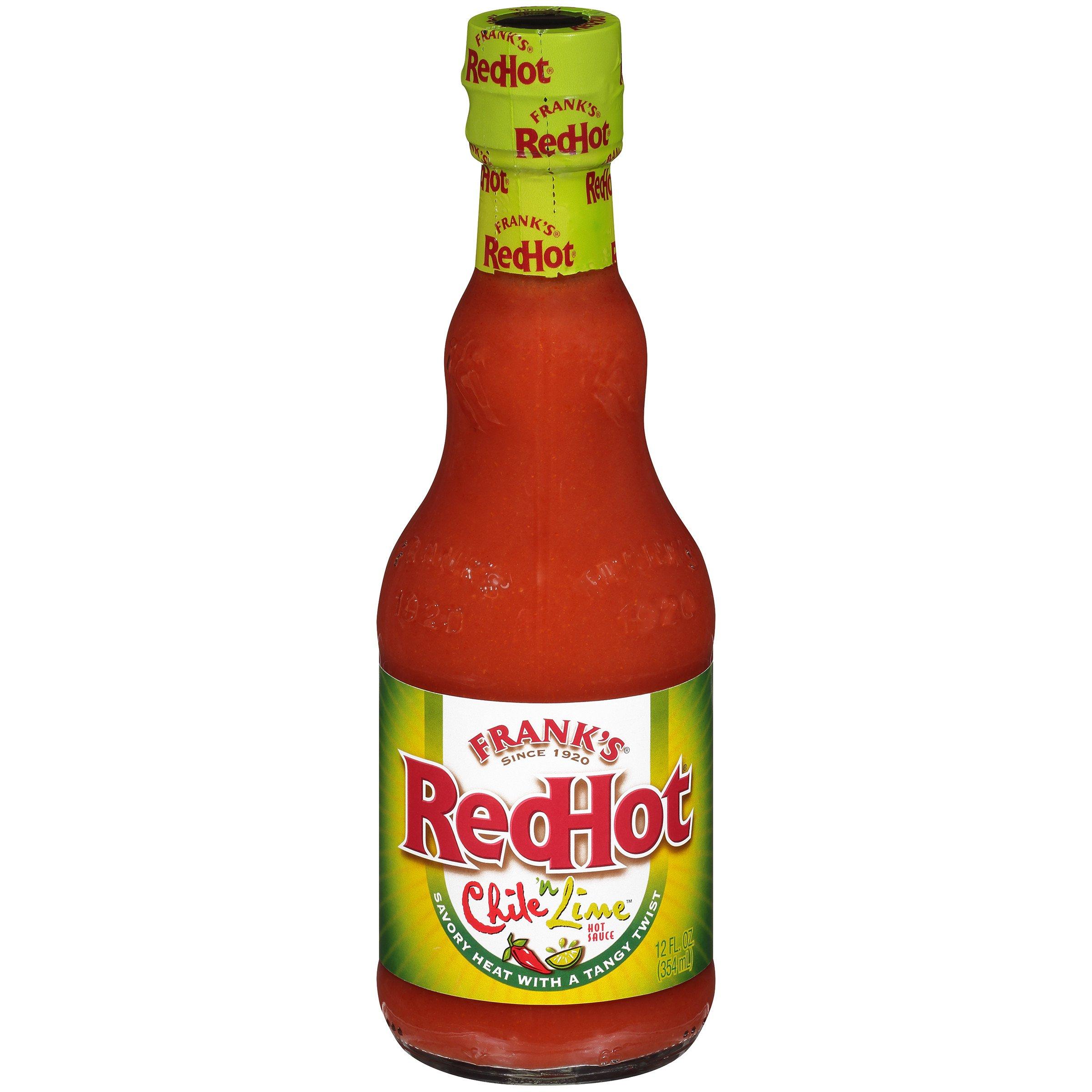 Frank's RedHot Chili 'n Lime Hot Sauce (Keto Friendly), 12 fl oz