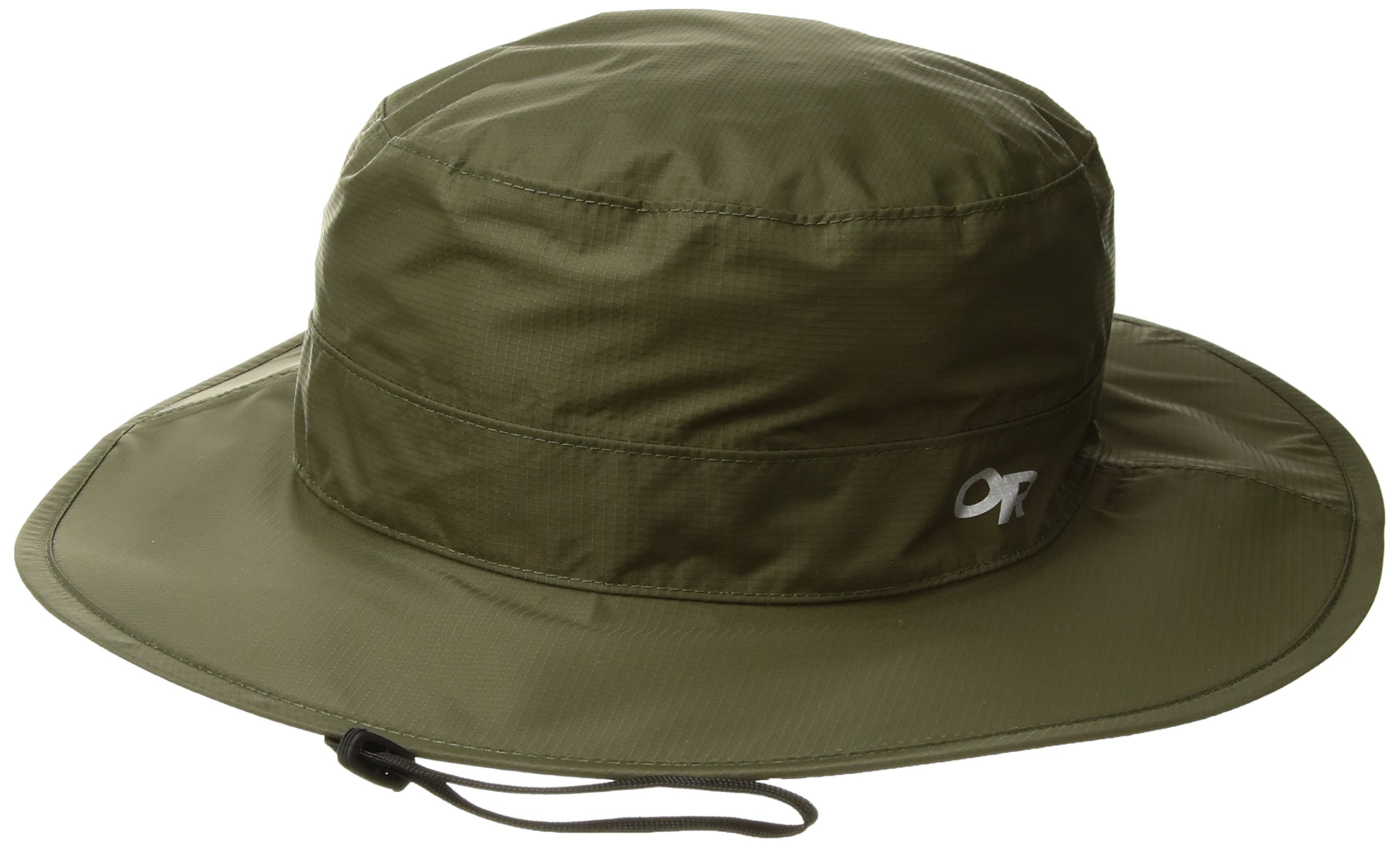 Outdoor Research Cloud Forest Rain Hat, Fatigue, Large/X-Large