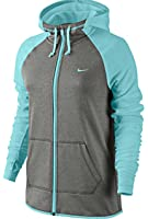 Nike Women's Therma fit All Time Full Zip Training Hoodie Athletic shirt