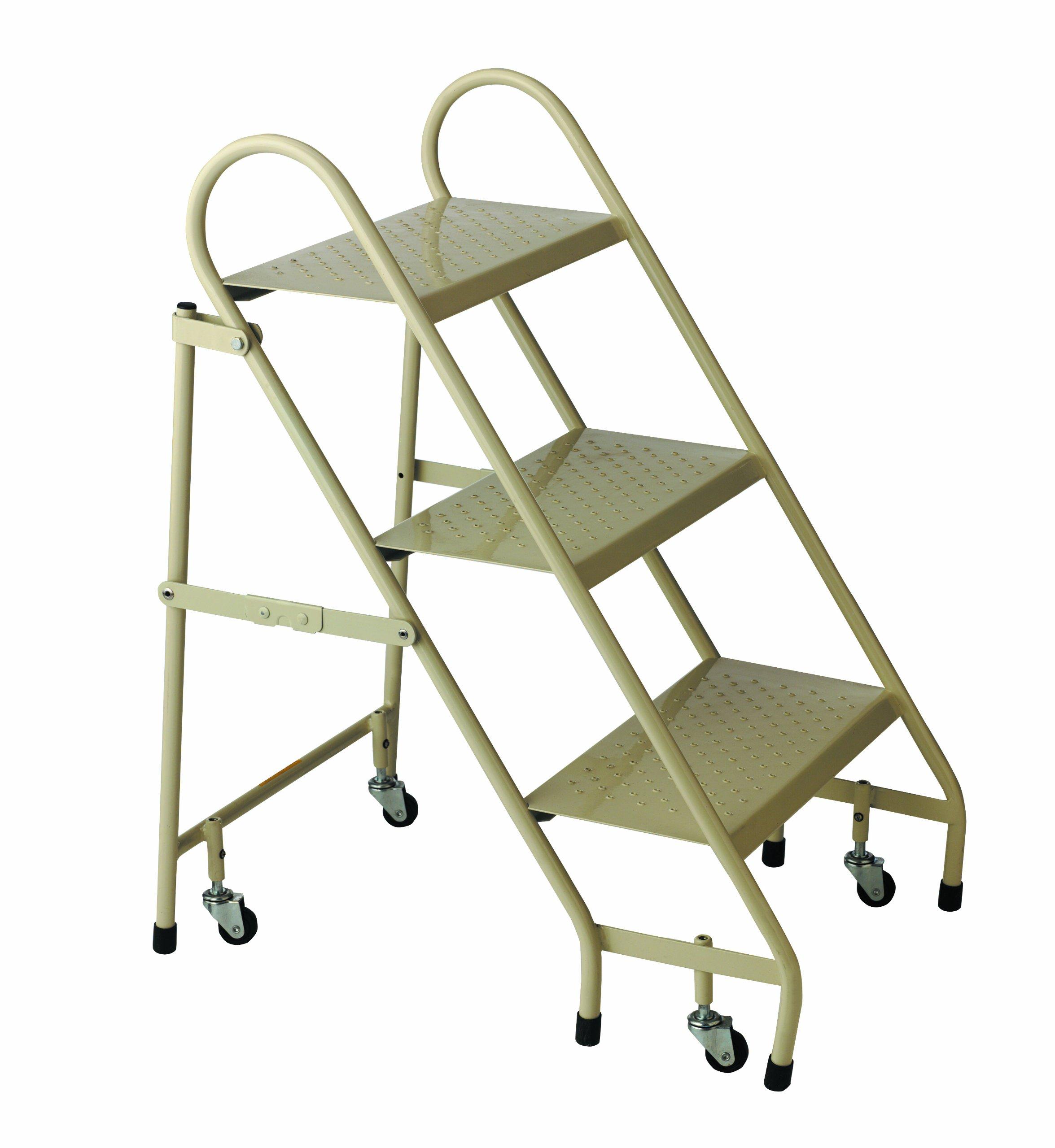Cramer 1130-19 Steel Folding Ladder, Beige