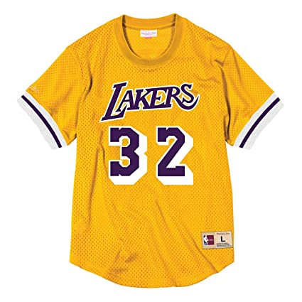 834397fe742 Image Unavailable. Image not available for. Color: Mitchell & Ness Magic  Johnson ...