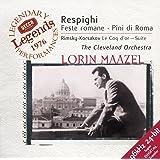 Respighi: Roman Festivals; Pines of Rome / Rimsky-Korsakov: The Golden Cockerel Suite