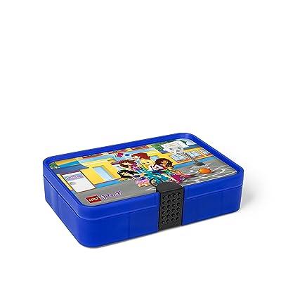 LEGO Friends Sorting Box, Transparent Blue: Room Copenhagen: Kitchen & Dining