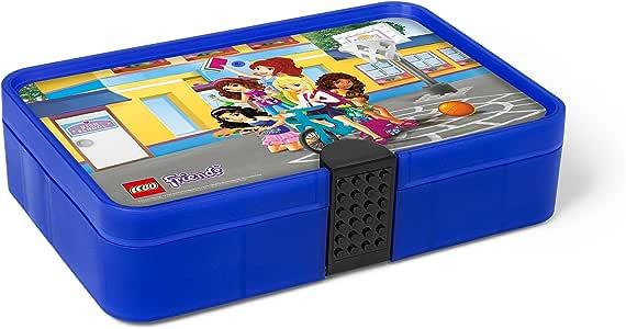 Amazon.com: LEGO Friends Sorting Box, Transparent Blue ...