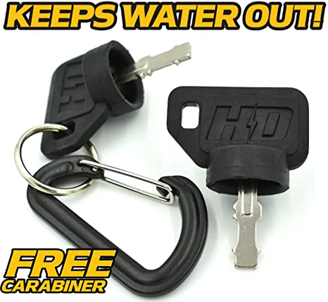 MTD 925-04659 Bolens, Huskee Ignition Switch - Includes Key & Free  Carabiner - HD Switch