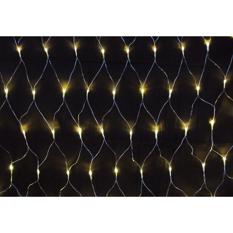 160er LED Lichternetz warmweis für Außen und Innen Lex