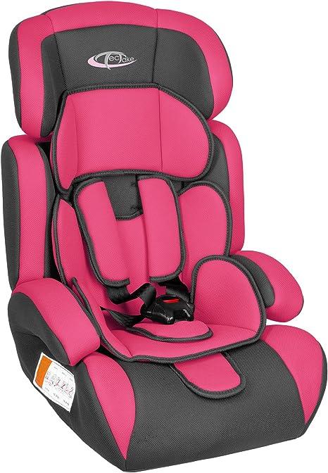 TecTake Silla de coche para niños - Grupos 1/2/3 | pesos de 9-36 ...