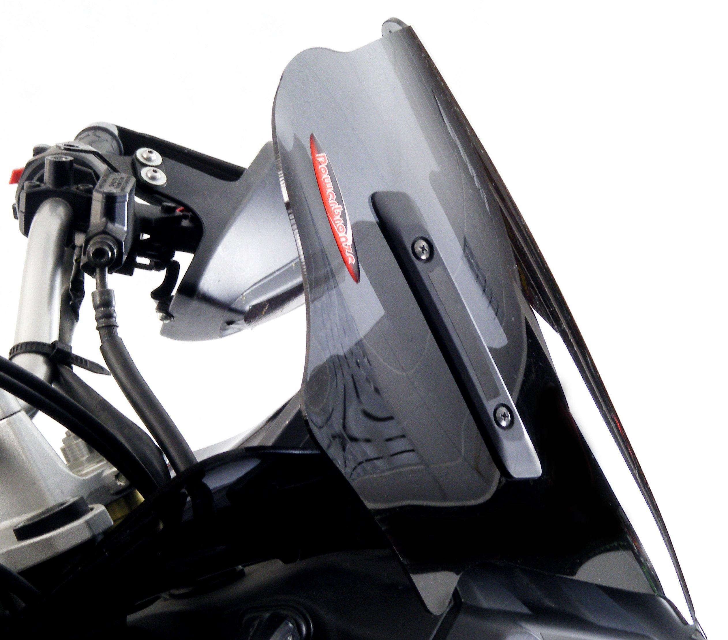 Powerbronze 460-Y102-002 Adventure Sports Screens to fit Yamaha XT1200Z Super Tenere (360mm) Dark Tint