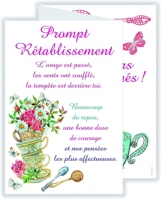 afie 69-3936 Carte 3 Volets Prompt R/établissement