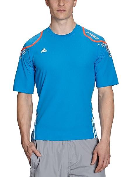 Adidas entrenamiento camiseta f50, f12/white/infrared, s, w53435 azul claro