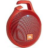 JBL CLIP+ Bluetoothスピーカー IPX5防水機能 ポータブル/ワイヤレス対応 レッド  JBLCLIPPLUSRED【国内正規品】