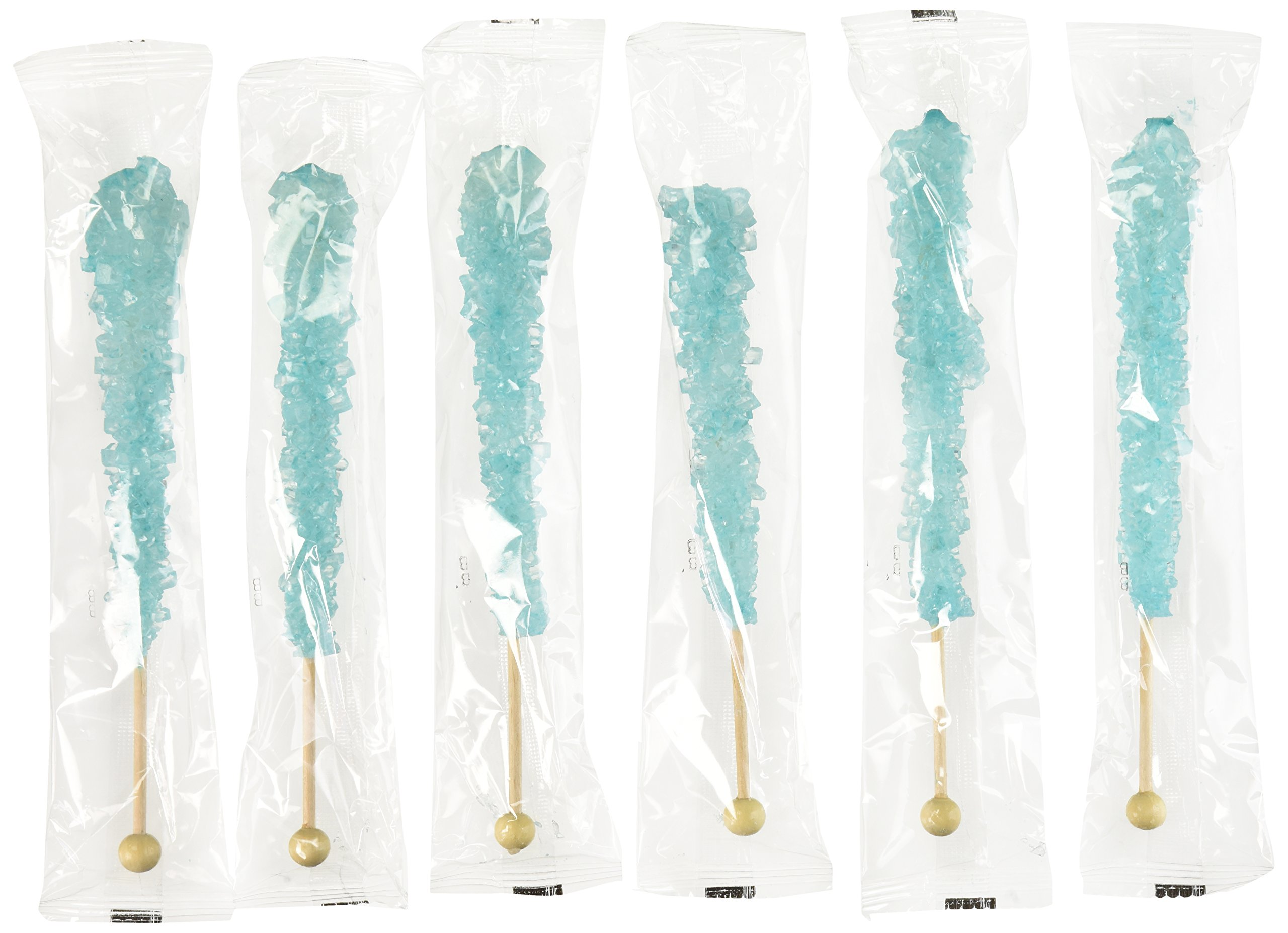 Amazon.com : Rock Candy on a Stick - Pack of 24 (White Sugar) - How ...