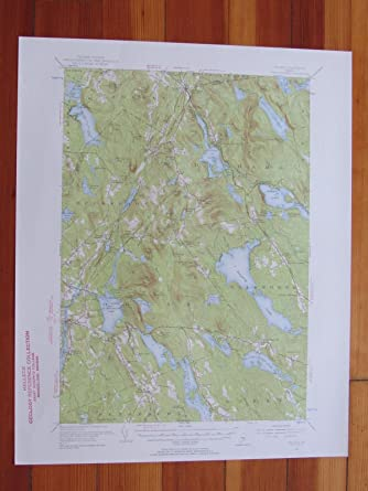 Orland Maine Map.Amazon Com Orland Maine 1956 Original Vintage Usgs Topo Map