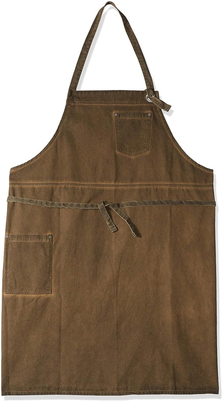 Chef Works Dorset Bib Apron Golden Brown One Size ABCAQ004-GBN-0