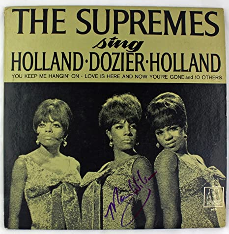 The Supremes Mary Wilson Signed Autographed Album LP Record
