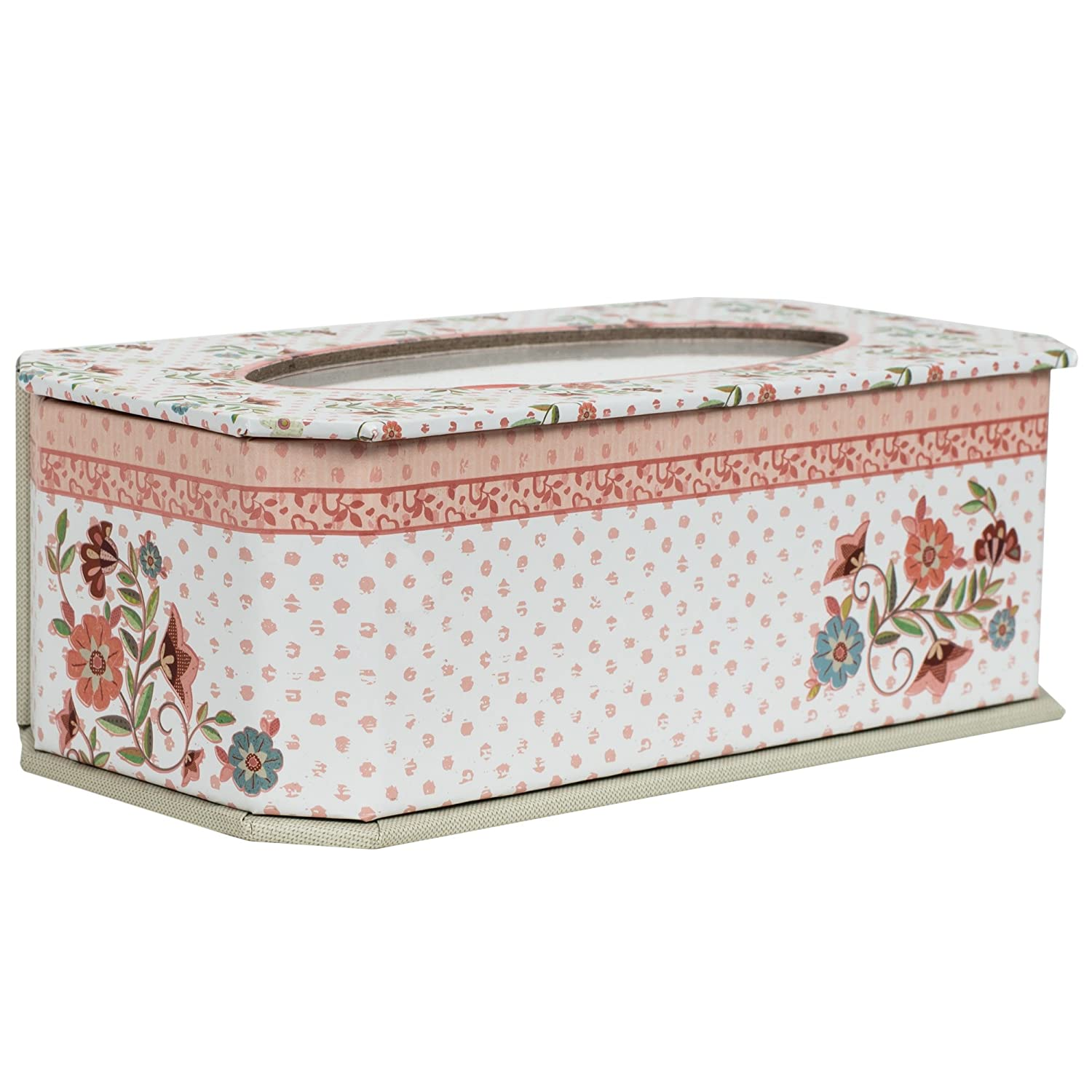 Cottage Garden Some People Make World Special Polka Dot Floral Chic Jewelry Music Box Plays Thats What Friends are for