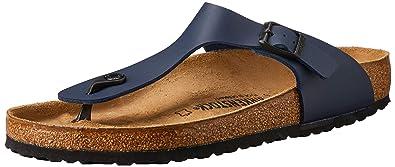2852c7f995706 Birkenstock Gizeh Blue Womens Sandals Size 36 EU M