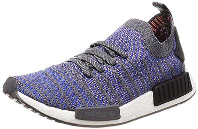 cheaper b934d b04c2 adidas Originals Men's NMD_R1 Stlt Pk Hirblu/Cblack/Chacor ...