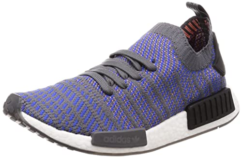 46a4d4f6f47e2 adidas Originals Men s NMD R1 Stlt Pk Hirblu Cblack Chacor Sneakers - 9 UK