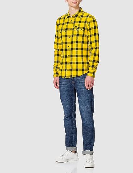 Lee Rider Shirt Camisa para Hombre: Amazon.es: Ropa