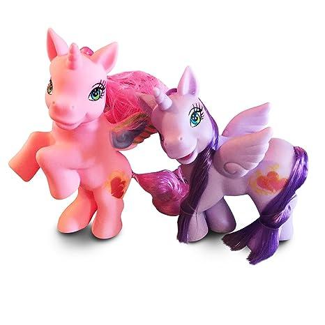 Amazon Com Beautiful Unicorn Doll Set Interactive Toy With A