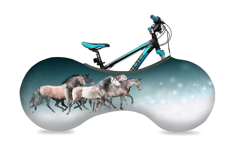 VELOSOCK 子ども用 馬 8歳以上 135㎝ 22-24インチ 室内用、持ち運び用 折り畳み 自転車 コンパクト屋内収納カバー - 床と壁を守る 洗濯可能カバー   B0180VZHY4
