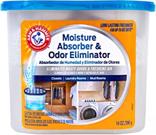 product image for Arm & Hammer Fragrance Free Disposable Moisture Absorber and Odor Eliminator 14 oz. Tub
