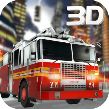 Amazon com: Firefighter Truck Driver Emergency Madness 3D: 911