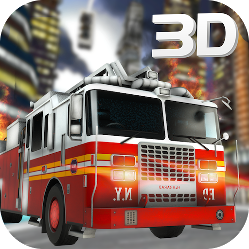 Fire Transporter - Firefighter Truck Driver Emergency Madness 3D: 911 Rescue Simulator Adventure Mission Game 2018