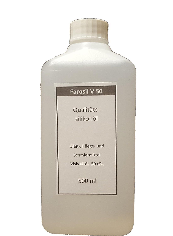 Qualitäts-Silikonöl 500 ml 50cst 1a-silikonbrust.de