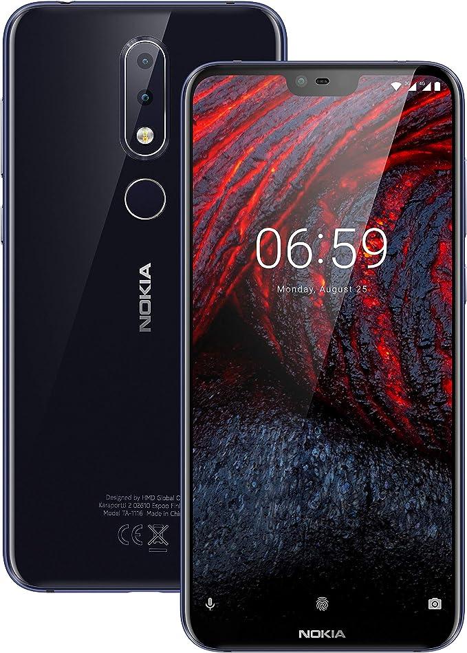 Nokia 6.1 Plus, Móvil Dual SIM, Android, Azul: Amazon.es: Electrónica