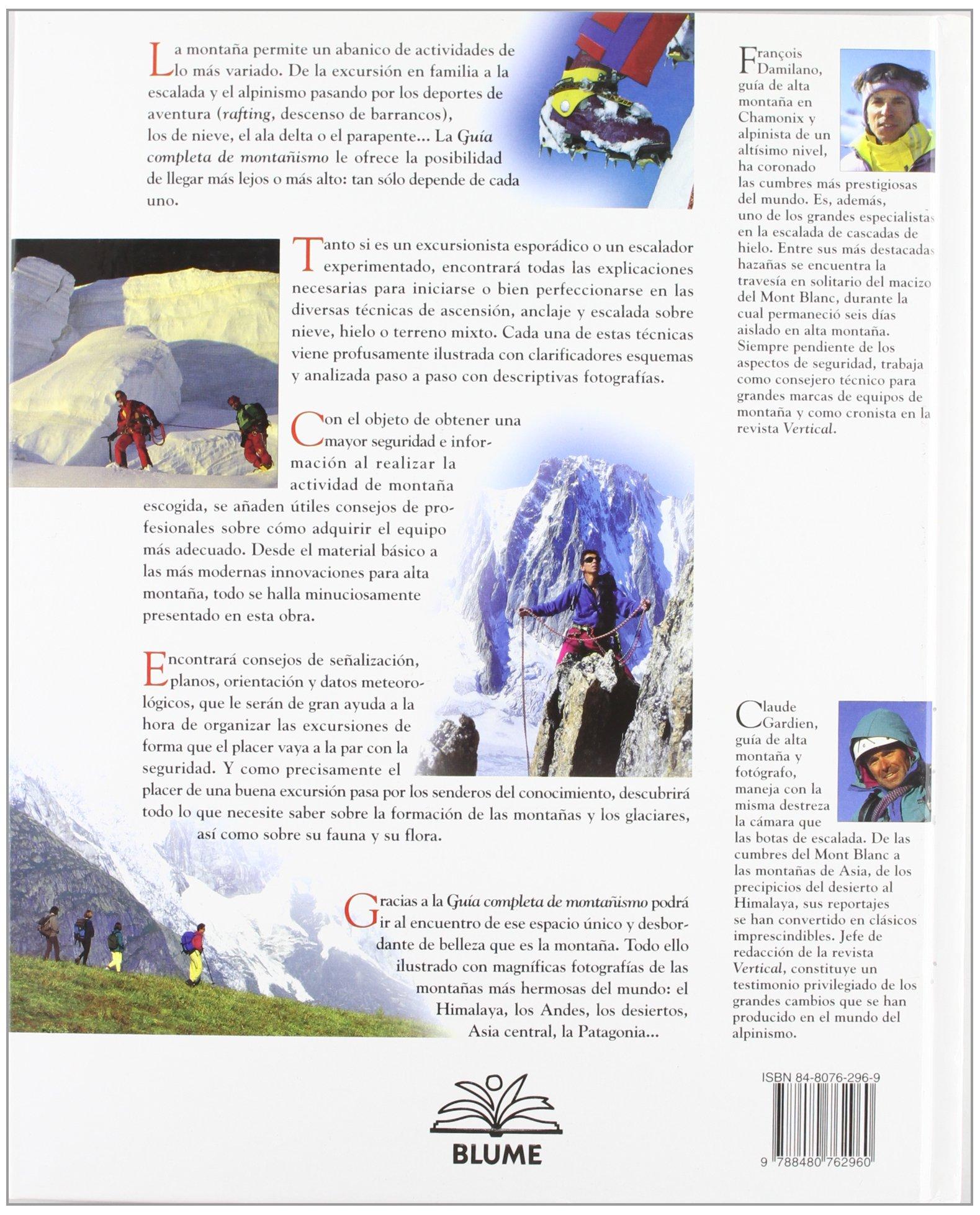Guia completa de montañismo: Amazon.es: Damiliano, Francois ...