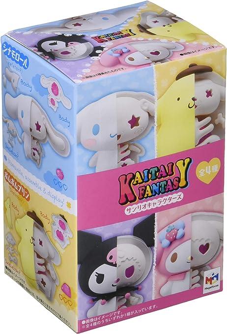 KAITAI FANTASY Sanrio Characters 4 BOX MegaHouse toy