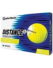 TaylorMade 2018 Distance Plus - Pelotas de Golf (una docena)
