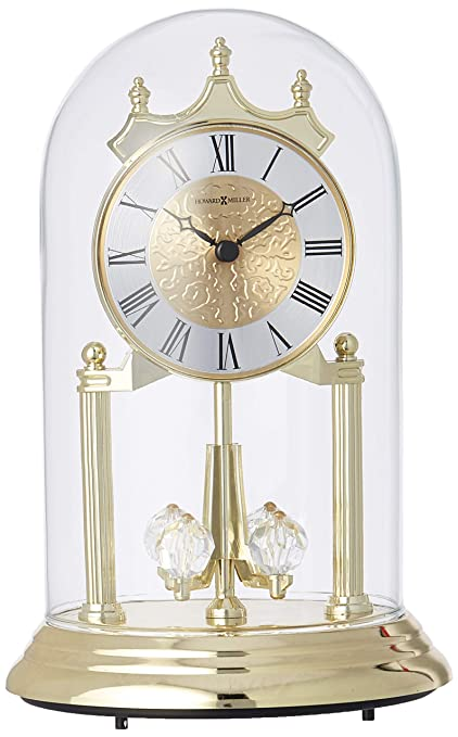 Amazon.com: Christina Gold Anniversary Clock Howard Miller 645690: Home & Kitchen