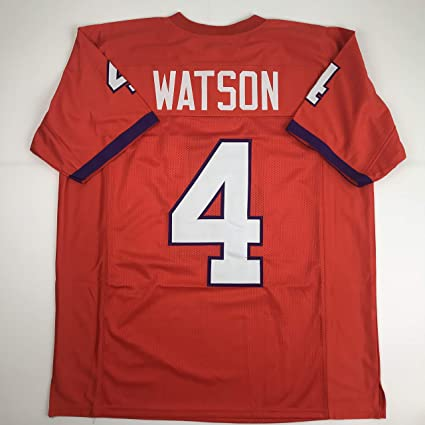 152c450e797 Unsigned Deshaun Watson Clemston Orange Custom Stitched College Football  Jersey Size Men's XL New No Brands