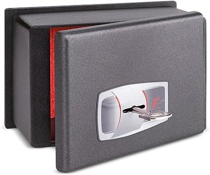 Technomax CS/0 - Mini caja fuerte para coche (con llave): Amazon ...